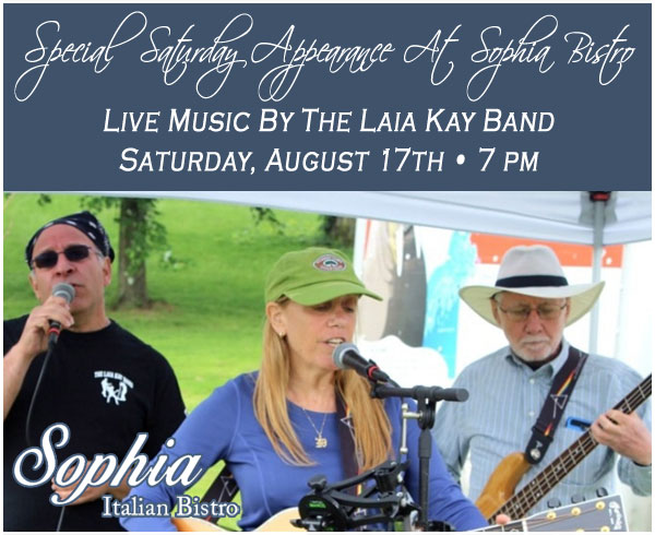 Sophia Bistro Saturday Live Entertainment