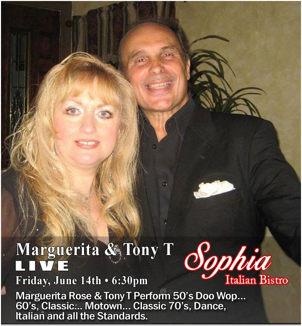 Sophia Bistro Friday Live Entertainment
