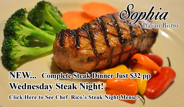 Wednesday Steak Night