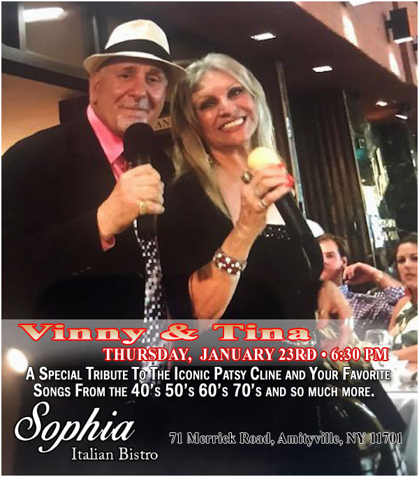 Sophia Bistro Thursday Live Entertainment